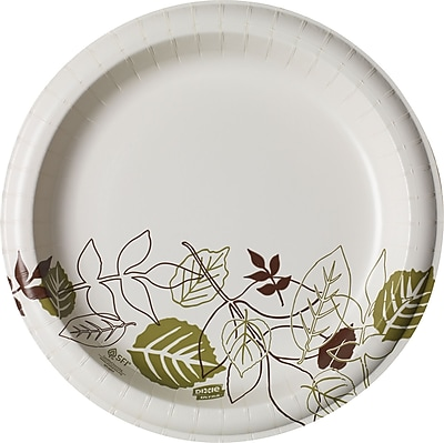 "Dixie® Ultra® Pathways® Heavy-Weight Paper Plate by GP PRO, 10"", 125/Pack (SXP10PATH)"