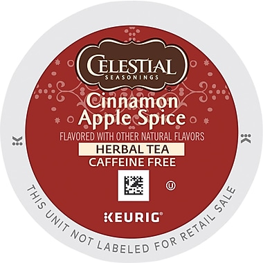 Keurig® K-Cup® Celestial Seasonings® Cinnamon Apple Spice Tea, 24 Count