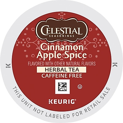 Keurig® K-Cup® Celestial Seasonings® Cinnamon Apple Spice Tea, 24 Count