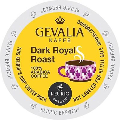 Keurig® K-Cup® Gevalia Kaffe Dark Royal Coffee, 24 Count