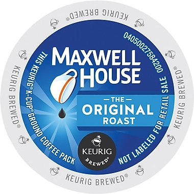 Maxwell House Original Roast Coffee K-Cup Pods, 24 Count