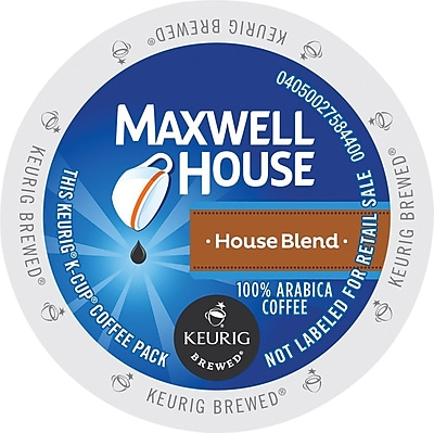 Keurig K-Cup Maxwell House House Blend Coffee, 24 Count 1678078