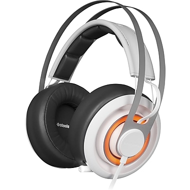 SteelSeries – Casque de jeu Siberia Elite Prism, blanc