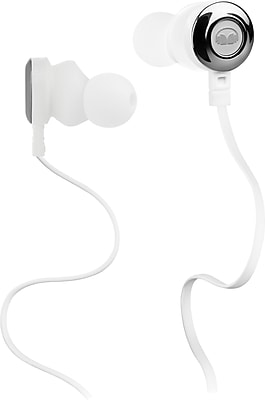 Monster Clarity HD High Definition In-Ear Headphones, White