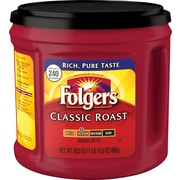 Folgers® Classic Roast Ground Coffee, Regular, 30.5 oz. Can