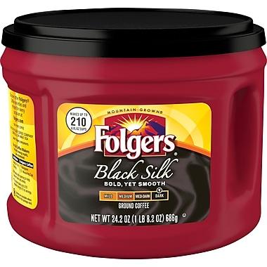 Folgers® Black Silk Ground Coffee, 24.2 oz.