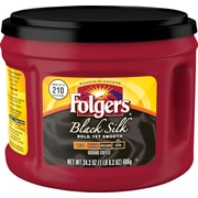 Folgers® Black Silk Coffee, 24.2 oz. Canister