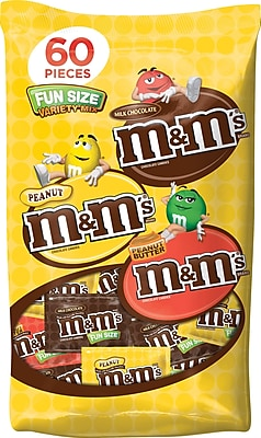 M&M's Fun Size Variety Mix, 32.9 oz. Bag 1686957