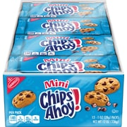 Nabisco Chips Ahoy! Mini Cookies, 1 oz, 12 count