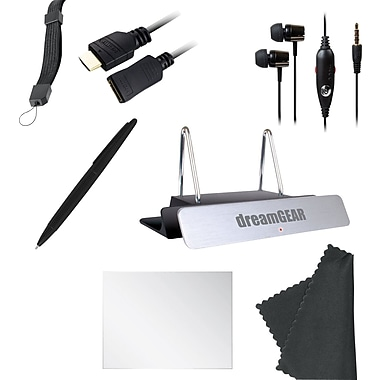 Dreamgear WiiU 7 In 1 Starter Kit Black