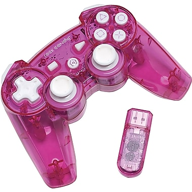 PDP PL6432PK PS3 Rock Candy Wireless Controller Pink