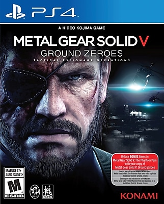 Konami 20289 PS4 Metal Gear Solid V: Ground Zeroes