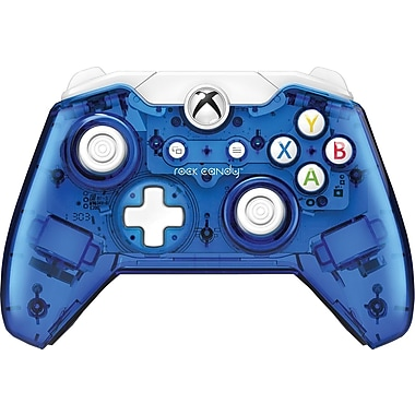 PDP 048-012-NA-BL XB1 Rock Candy Wired Controller Blueberry Boom