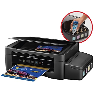 Epson Expression ET-2500 EcoTank Color Inkjet Wireless All-In-One Printer