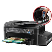 Epson® WorkForce® EcoTank ET-4550 Wireless Multifunction Color Inkjet Printer (Print/Copy/Scan/Fax)