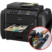 Epson® WorkForce® Pro EcoTank WF-R4640 Wireless Multifunction Color Inkjet Printer (C11CE69201)