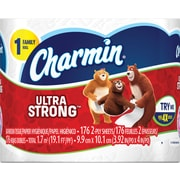 Charmin Ultra Strong™ Toilet Paper, 1 Family Roll, 36/Pack (95604CT)