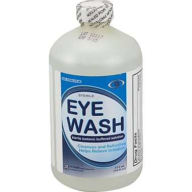 First Aid Only™ Eye Wash, 16 oz