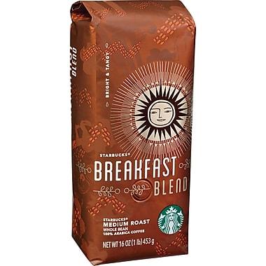 Starbucks® Breakfast Blend Ground Coffee, Regular, 1 lb. Bag
