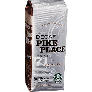 Starbucks® Pike Place® Ground Coffee, Decaffeinated, 1 lb. Bag