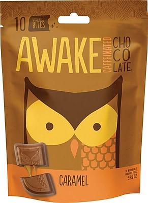 Awake Caffeinated Chocolate™ CaramelChocolate Bites, 5.29 oz. Bag, 6/Ct