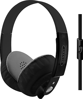 Sentry Platinum Headphones, Black