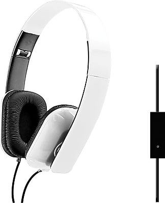 Sentry Folding Headphones, White