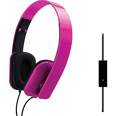 Sentry Folding Headphones, Pink