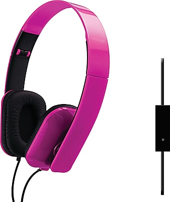 Sentry Folding Headphones, Pink