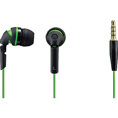 Sentry Neons Earbuds, Green