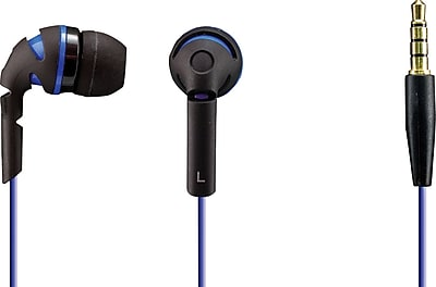 Sentry Neons Earbuds, Navy