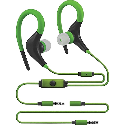 Sentry Xtream Sport Earhooks, Green