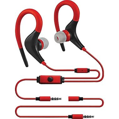 Sentry Xtream Sport Earhooks, Red