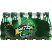 Perrier Carbonated Water, 500ml Plastic Bottles, 24/Pack