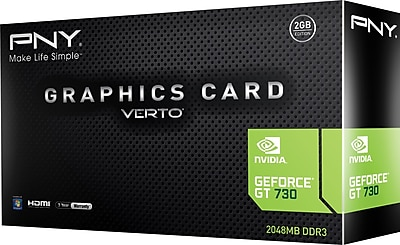 Geforce® GT 730 GraphicCard 2GB 128-bit Video Card