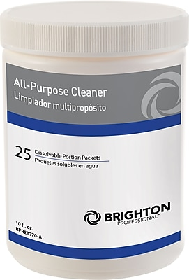 Brighton Professional™ All-Purpose Cleaner Dissolvable Portion Packets, 25/Pack