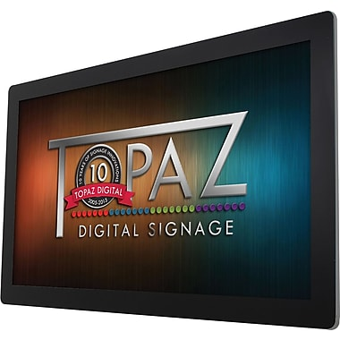 "Topaz Digital Signage (TPZ-SL-42W) 42"" Wall-Mount Display with Built-In Wi-Fi and Media Player"