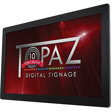 "Topaz Digital Signage (TPZ-SL-55W) 55"" Wall-Mount Display with Built-In Wi-Fi and Media Player"