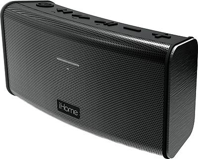 iHome IBT33 Rechargeable Splash Proof Stereo Bluetooth Speaker with Speakerphone