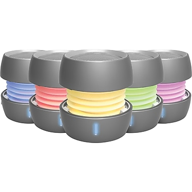 iHome IBT73 Color Changing Bluetooth Rechargeable Mini Speaker System