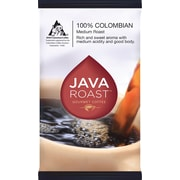 Java Roast Gourmet Colombian Ground Coffee with Filters; Regular, 1.25 oz., 42 Packets