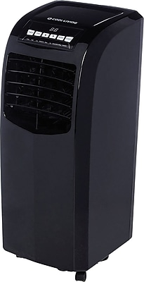 Cool Living 10,000BTU Portable AC / Dehumidifier & Fan - Black
