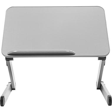 T-Zone 3MT Desk Extender Sit & Stand Desk, Gray (SD3MTG)