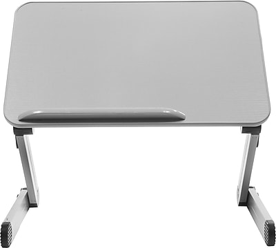 T-Zone 3MT Desk Extender Sit & Stand Desk, Gray (SD3MTG)