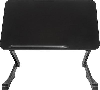 TZone 4LT Desk Extender Sit Stand Desk Black SD4LTB Staples