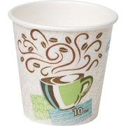 Dixie PerfecTouch 10oz Hot Cups, 25/Pack (531DX)