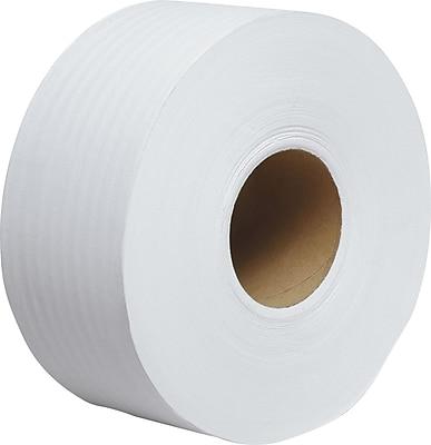 Scott® 1000 JRT Jr. Jumbo Roll Toilet Paper, 2-PLY, 1000'/Roll, 12 Rolls/Case (07805)