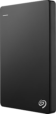 Seagate Backup Plus Slim 2TB Portable USB 3.0 External Hard Drive with Mobile Device Backup, Black (STDR2000100)