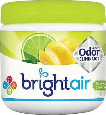 //.staples-3p.com/s7/is/  sc 1 st  Staples & Bright Air® Super Odor Eliminator Air Freshener Lemon Lime 14 oz ...
