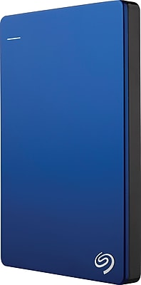 Seagate STDR2000102 2TB USB 3.0 Portable Backup Plus Slim External Hard Drive with Mobile Device Backup Blue (STDR2000102)
